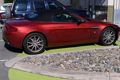 Aston Martin Vantage; Southport, Gold Coast, Queensland, Australia; 20 July 2012. Photos by Des Thureson - http://disci.smugmug.com.
