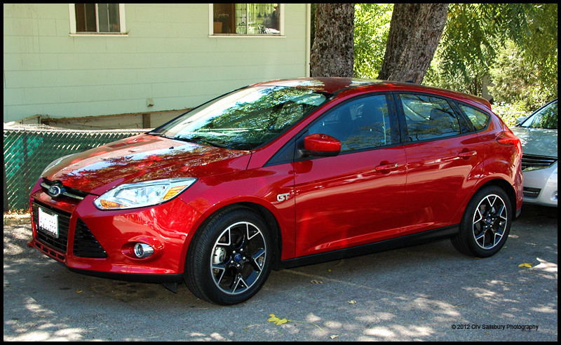 I just love our new ride! 2012 Focus Hatchback.