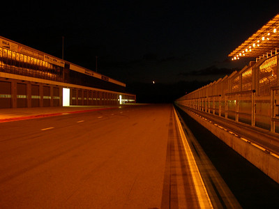 Lausitzring at night
