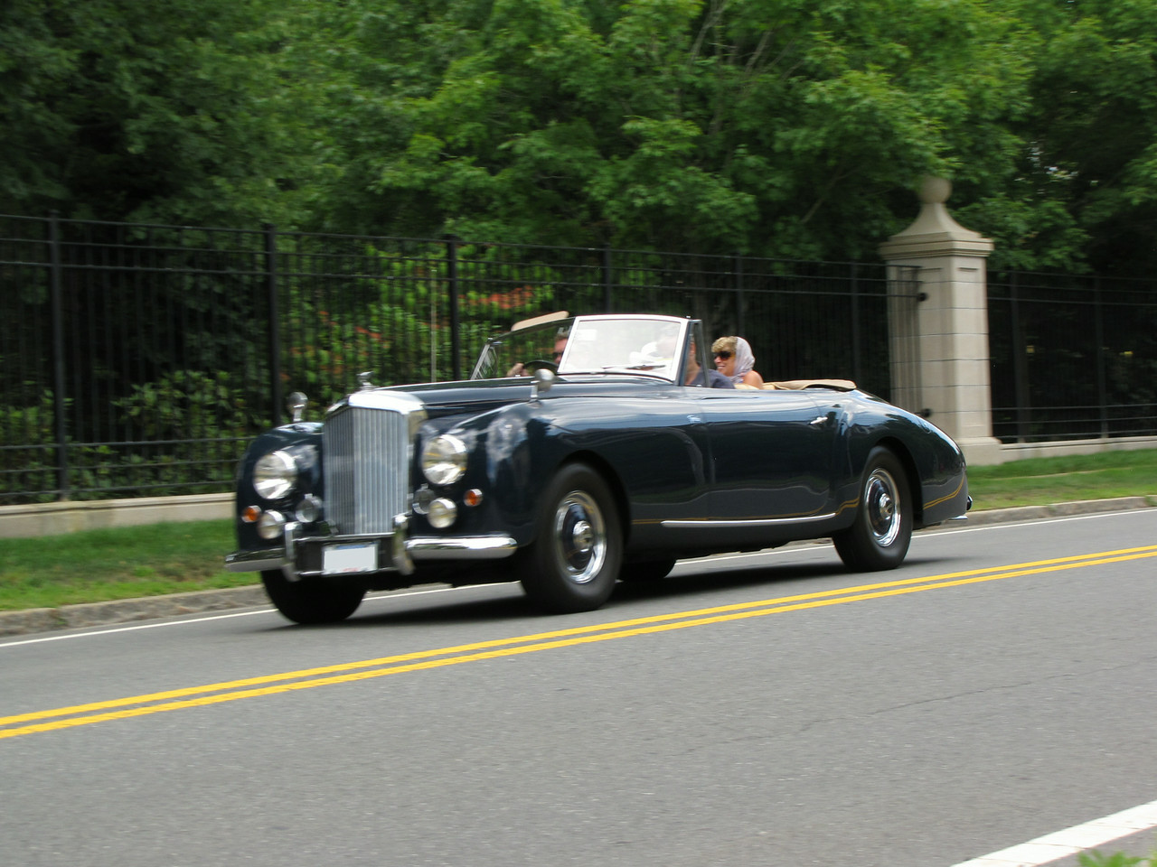 Bentley Mk VI Graber Drophead