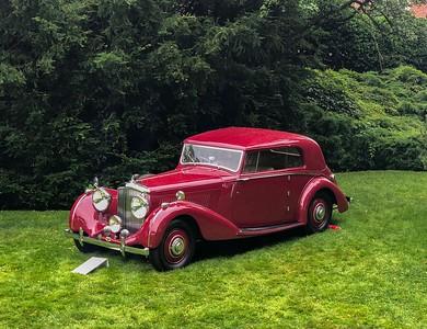 Bentley 4 1/4 Pillarless Coupe