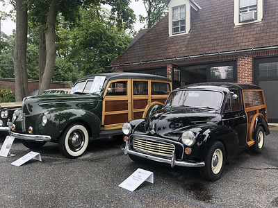 Ford Standard Woodie and Morris Minor