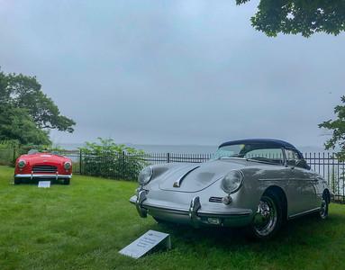 Porsche 356 Super 90 and Allard Palm Beach roadster