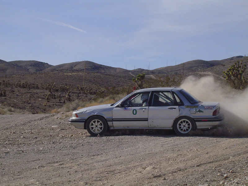 As zero (lead) car at Seed 9 Rally, 2006