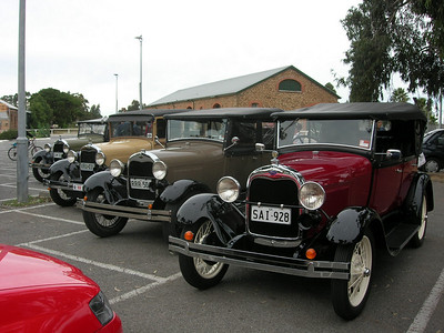 Model A's at Gawler