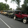 Model A Club cars lined up