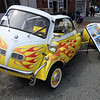 The first of several BMW Isetta's.  This one is from 1959 and sports a custom-made trailer...