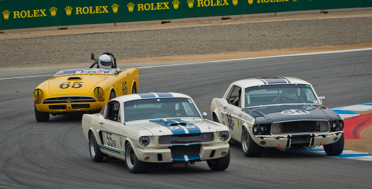 1965 GT350, 1967 Mustang and 1965 Sunbeam Tiger