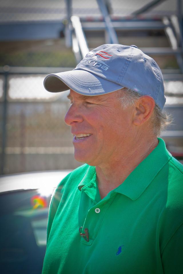 Bruce Canepa at Monterey Historics 2011