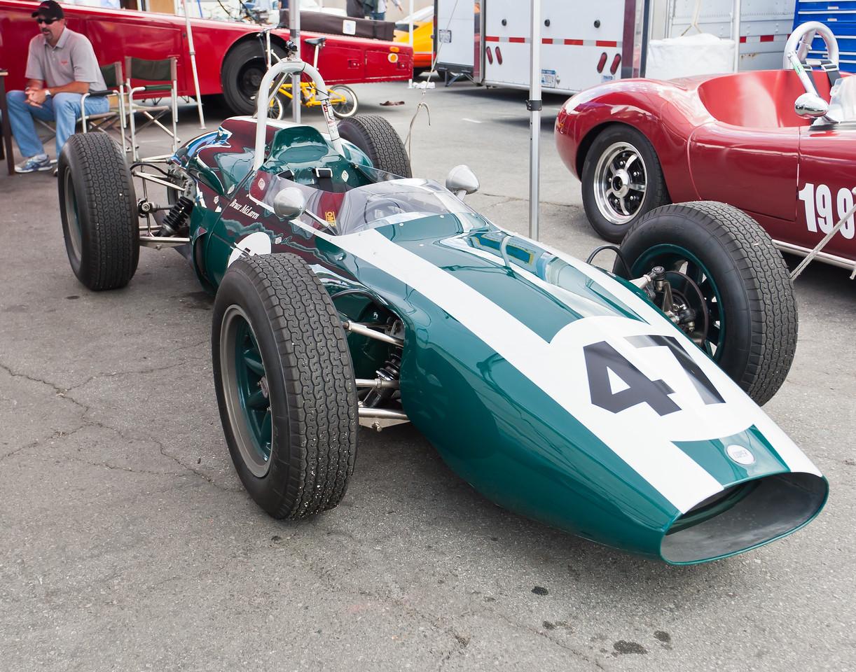 ex-Bruce Mclaren 1962 Cooper T62, winner if 1962 Australian GP