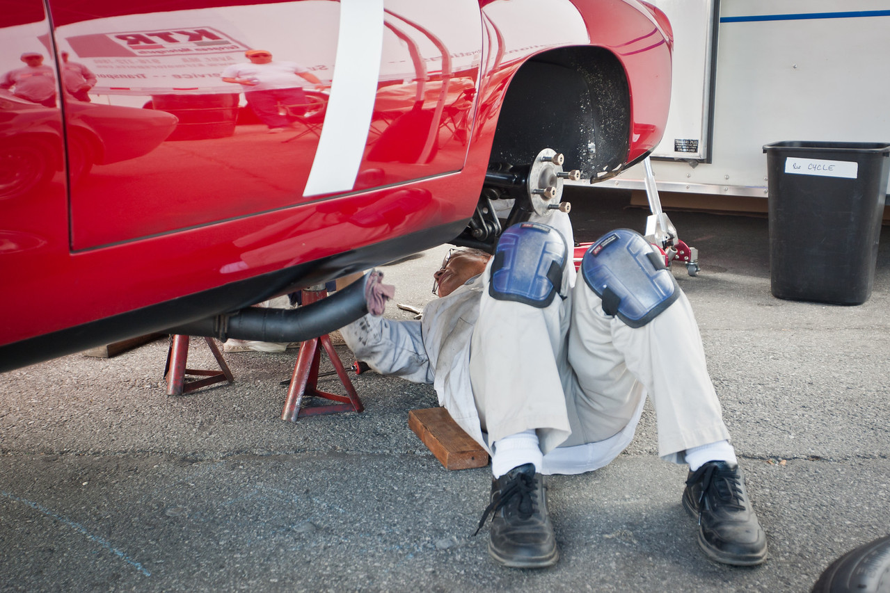 Servicing 1964 Alfa Romeo TZ Coupe