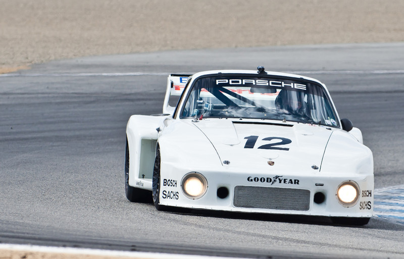 "Bruce Canepa driving his 1979 Porsche 935 Chassis #  009 0029, last factory-built ""werks"" car"
