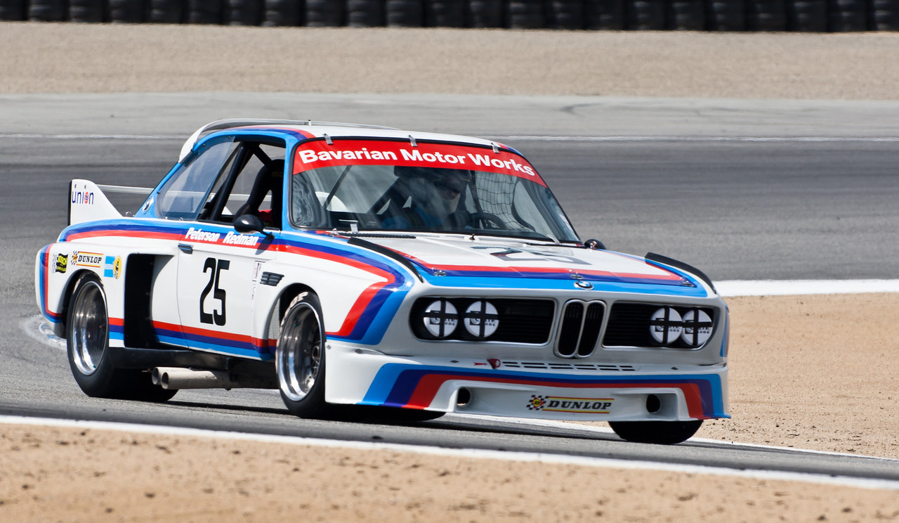 ex-Peterson/Redman 1975 BMW 3.0 CSL
