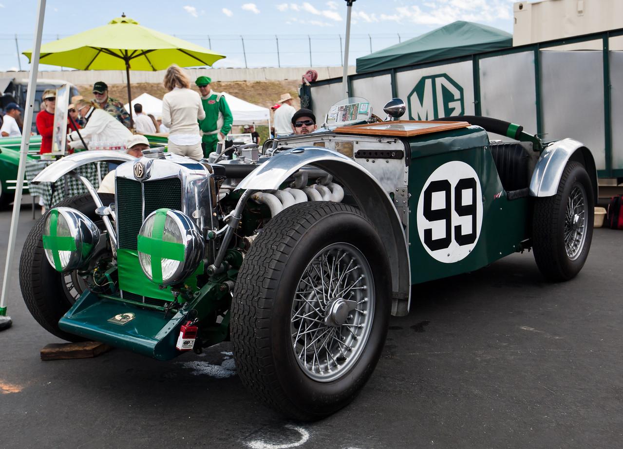 1934 MG NA Magnette