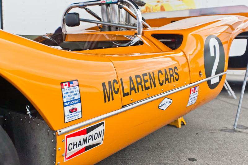 1968 McLareb M6B in paddock