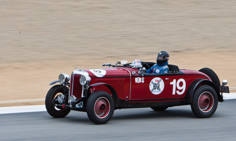Howard Swig in 1931 Chrysler CD-8 Le Mans