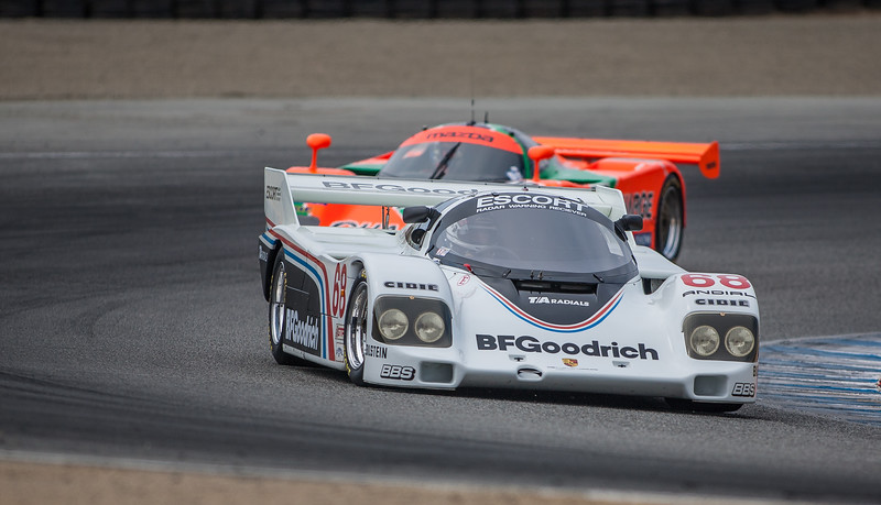 1984 Porsche 962, ex Jim Busby Racing, driven by John Morton and Pete Halsmer 962-105