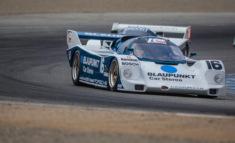 Zak Brown's  1986 Porsche 962 ex Dyson Racing, chassis DR1 202