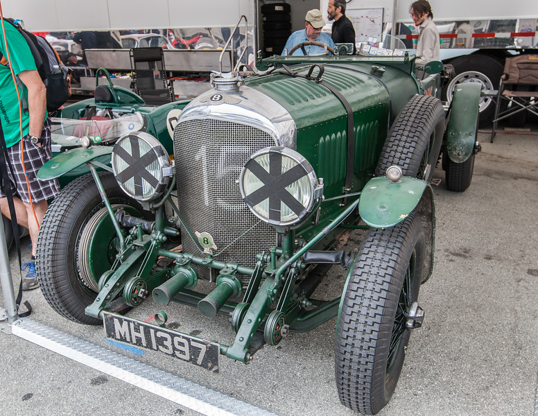 1929 Bentley 4.5 liter<br /> LeMans, owned by Bruce McCaw