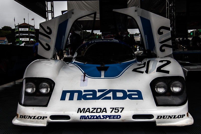 Mazda 757 GTP Le Mans Prototype from 1986