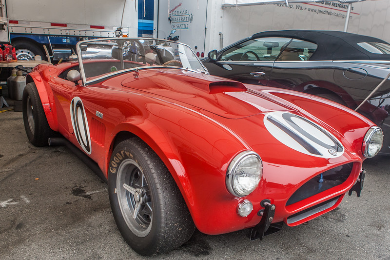 1963 Shelby Cobra 289 Le Mans CSX 2156. One of 8 special models for racing