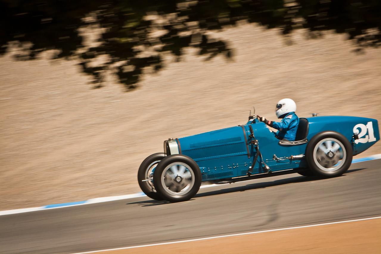 Bugatti Type 37 in Cork Screw