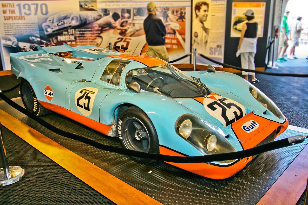 1970 Porsche 917K Longtail, ex Elford and Redman