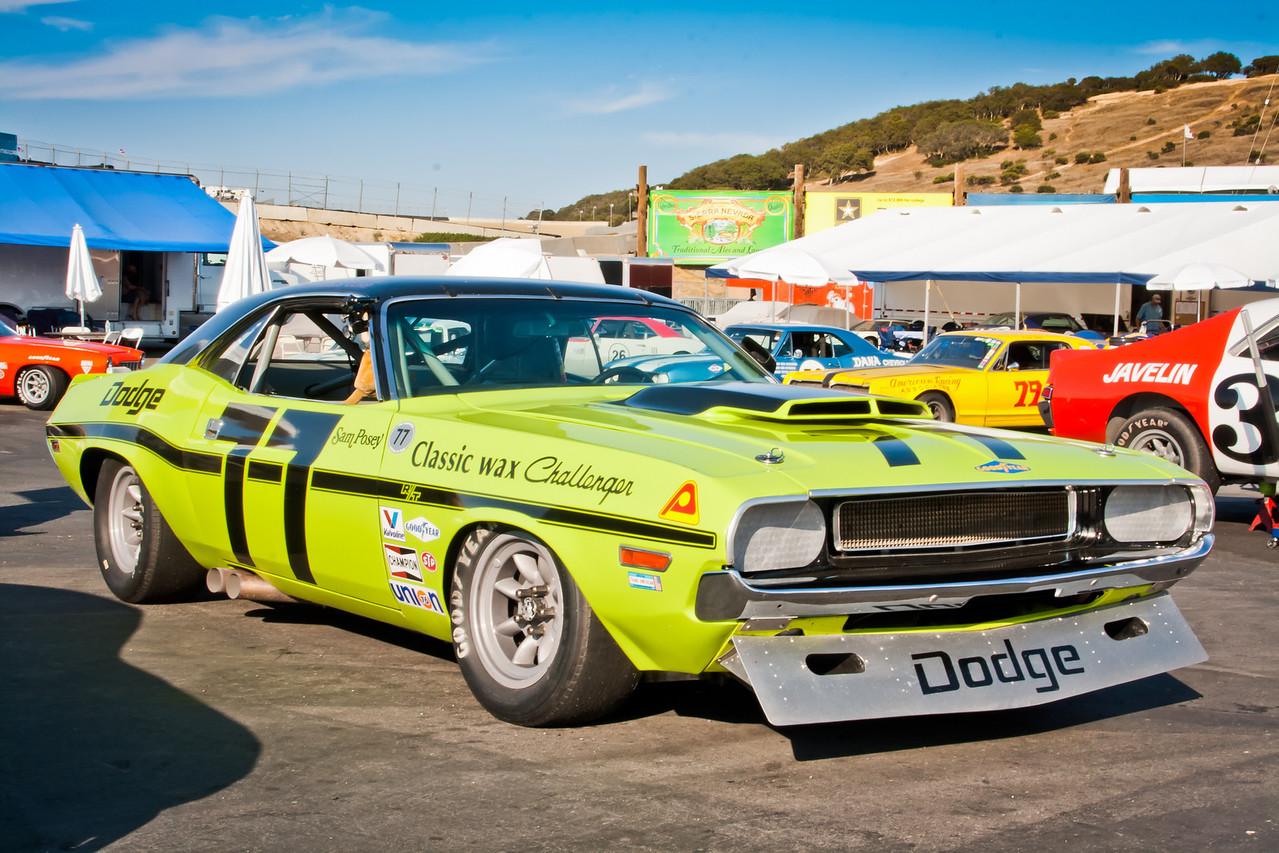 ex Sam Posey 1970 Dodge Challenger T/A