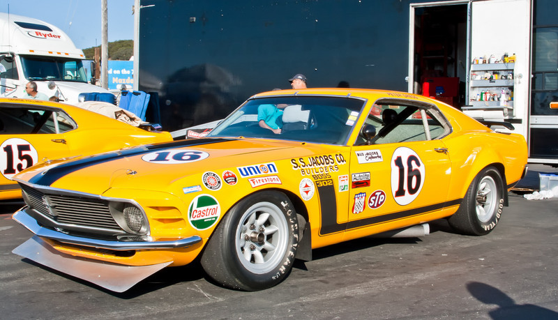 Ex-Peter Gregg 1970 Boss 302 Mustang