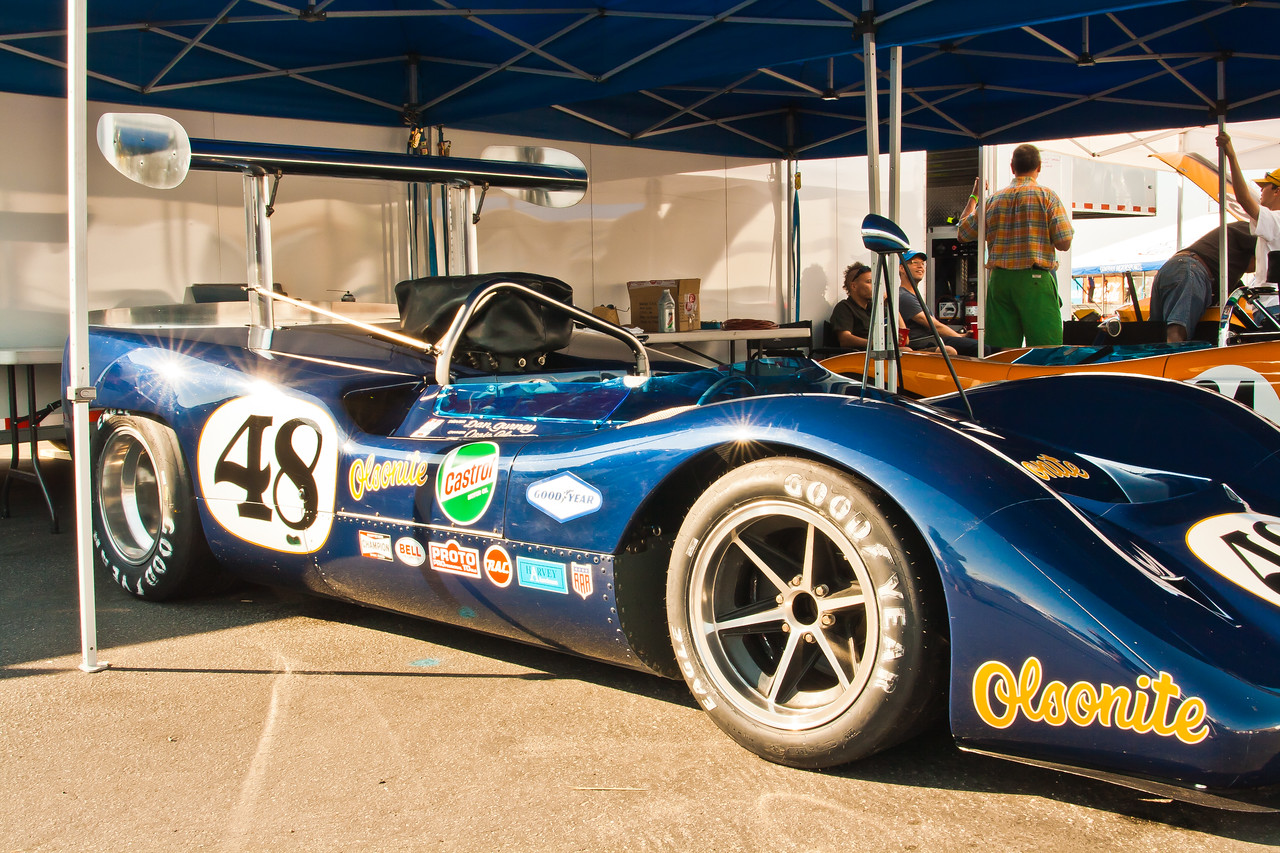 1968 McLaren M6B Can-Am Car -- Dan Gurney Olsonite Team