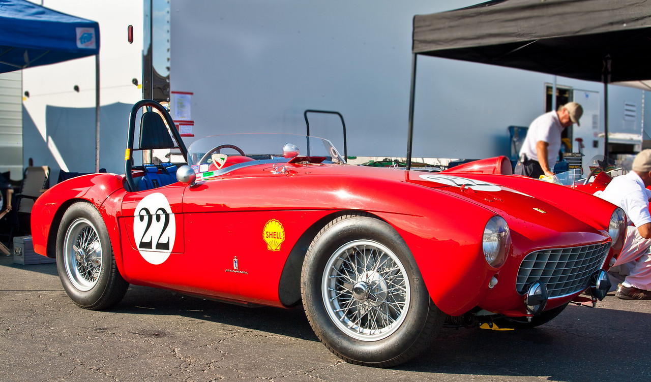 1953 Ferrari 500 Mondial sn-0408MD Pinin Farina