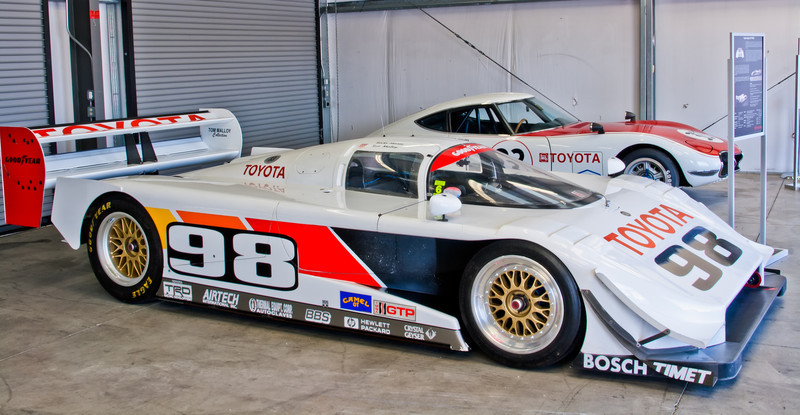1992 Toyota IMSA GTP Eagle MKIII and 1968 Toyota 2000GT