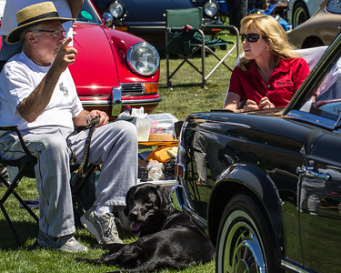 """Legends of the Autobahn"" - the gathering of German car enthusiasts in Carmel Valley"