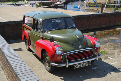 Newport, Isle of Wight May 2012 (ex civilian Traveller but apparently MOD had such vehicles)