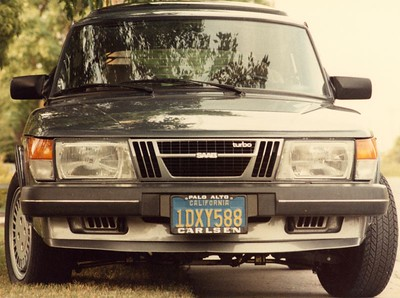 """""""Carl"""" 82 900 Turbo (Note the aftermarket IPD sway bar mounts)"""