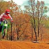 Keith Harris on the track  at the old Emerald dump area, now all park & housing.