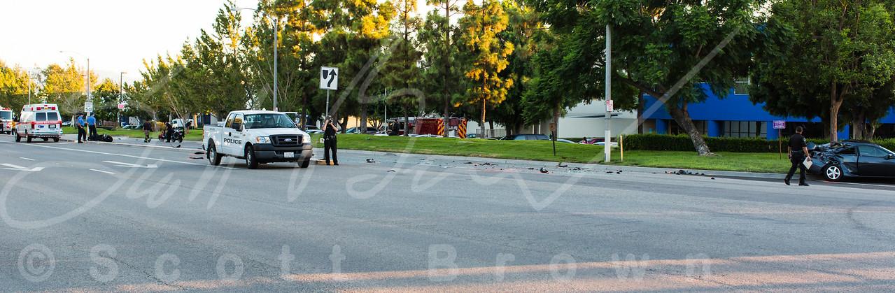 Motorcycle Fatality - Milliken & Brickell