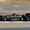 Andretti drives a few laps in a Lotus 79.