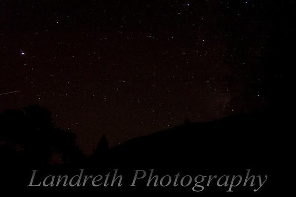 2am sky of Pikes Peak