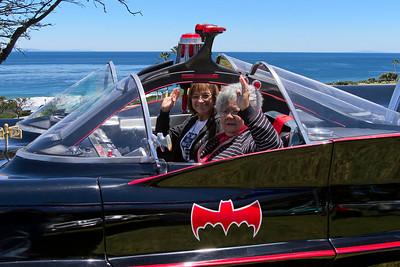 Batmobile at the beach