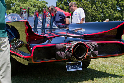 Batmobile -check out the pipes