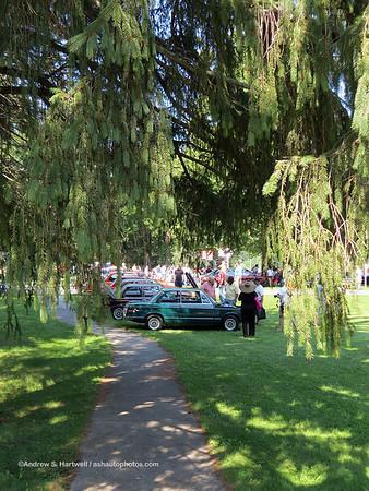 BMW Vintage At Saratoga 2015