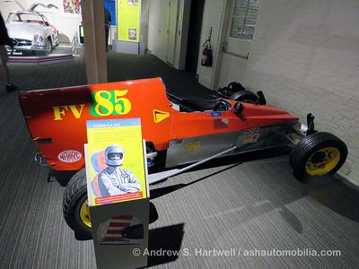 Sam Posey Exhibit 2016 at The Saratoga Auto Museum