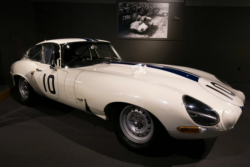 1962 Jaguar E-Type, Le Mans entry, 4th place finisher