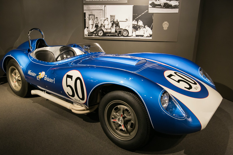 1958 Scarab Sports Racer.