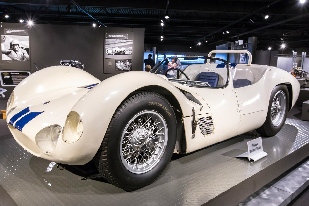 1961 Maseratti Tipo 61 Birdcage. Third in class at Le Mans in 1962 driven by Briggs Cunningham
