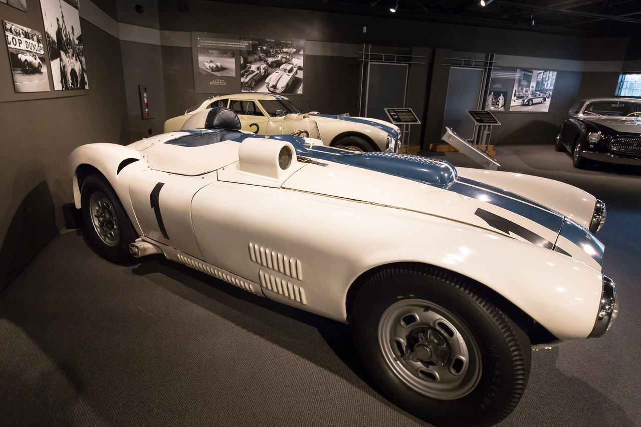 1952 Cunningham C-4R, finished 4th at Le Mans, 192