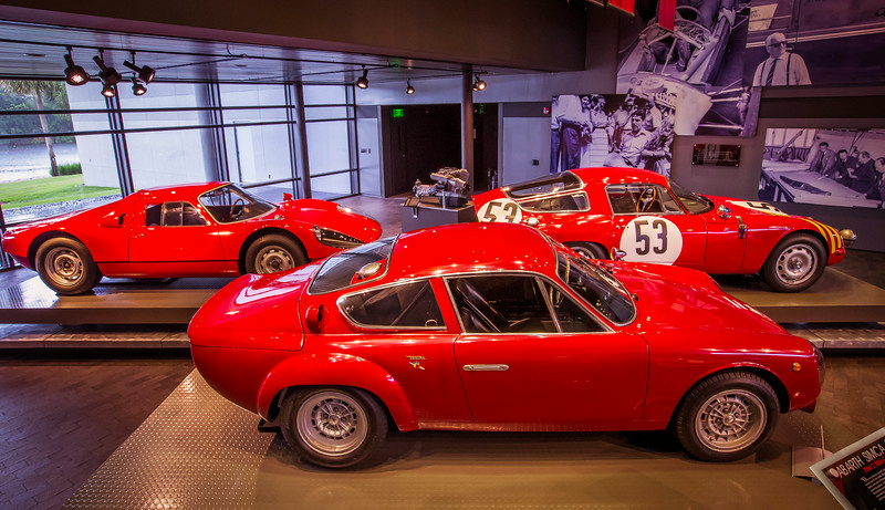 Entry, Alfa Romeo GTZ, Porsche 904 Carrera GTS and 1964 Abarth Simca 2000 GT