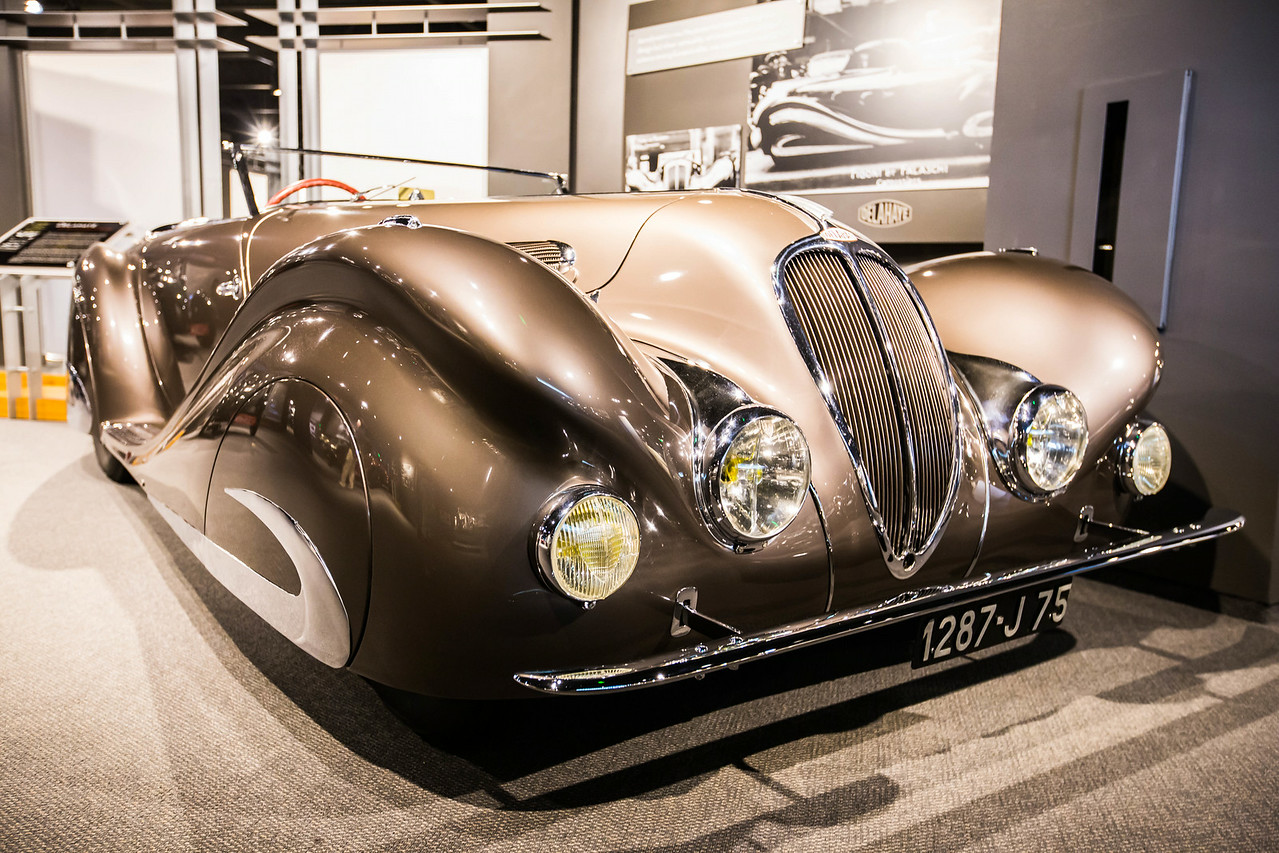1937 Delahaye Type 135 MS Special Roadster