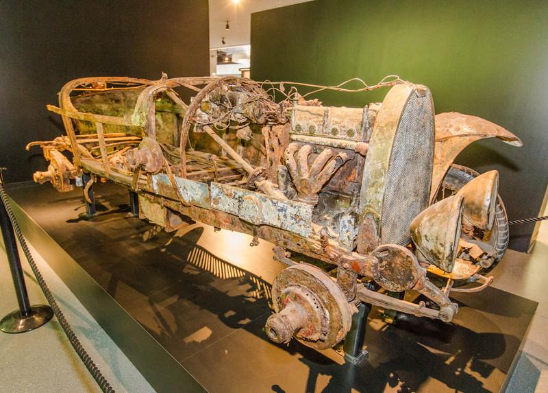 1922 Bugatti Type 22 recovered from Lake Maggiore in Switzerland